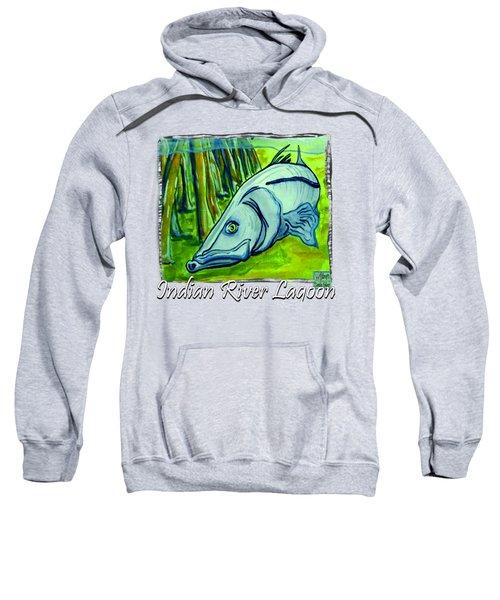 Snook Fish Sweatshirt by W Gilroy