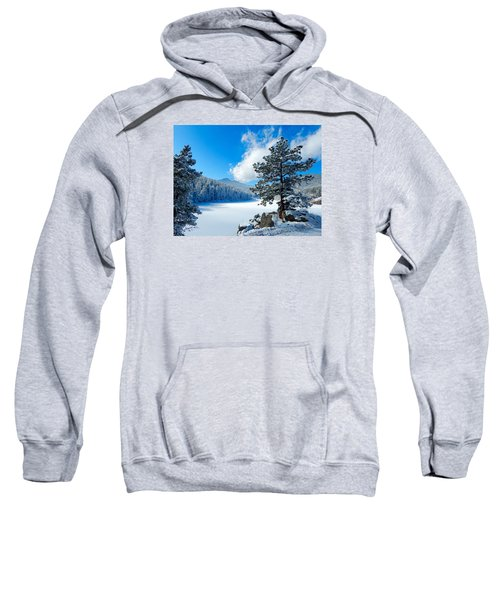 Snow At Beaver Brook Sweatshirt