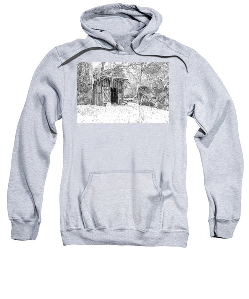 Snow Covered Chicken House Sweatshirt