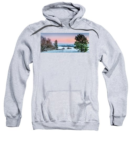 Snow Covered Valley Sweatshirt