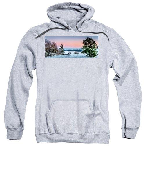 Snow Covered Valley Sweatshirt