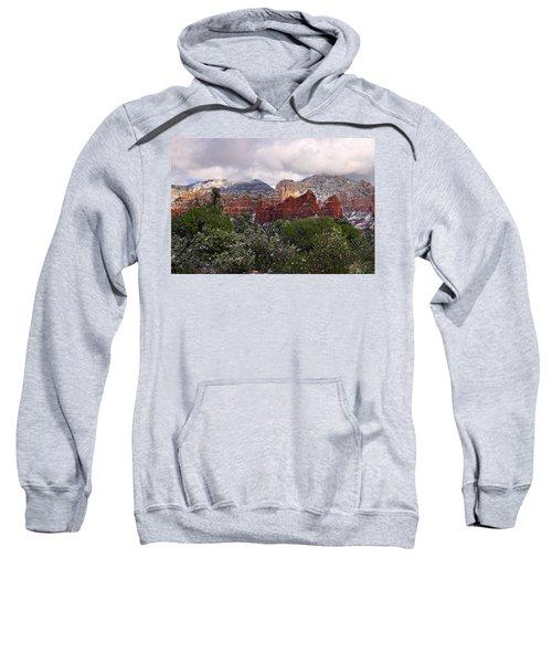 Snow In Heaven Sweatshirt