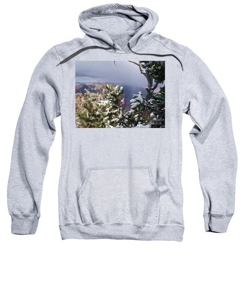 Snow In The Canyon Sweatshirt