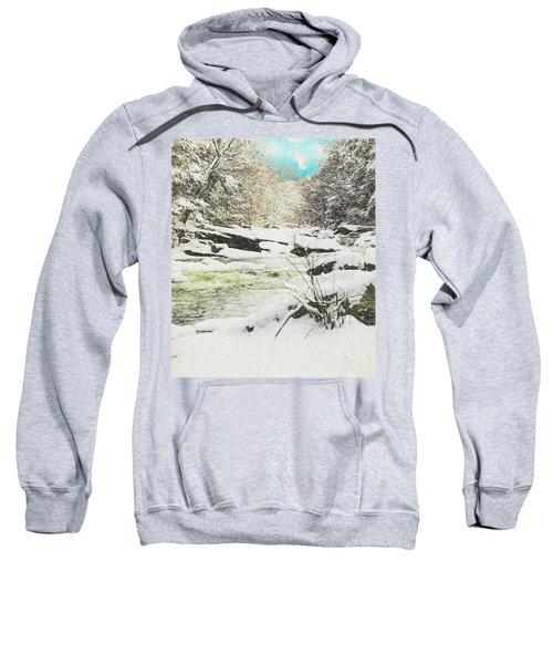 Snow On The Natchaug Sweatshirt