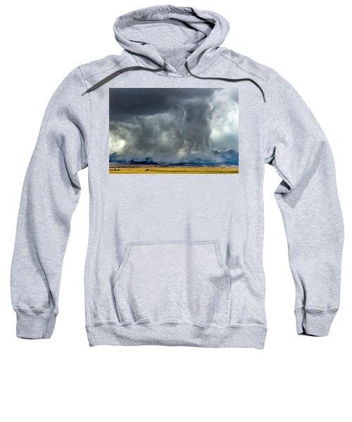 Snow On The Rockies Sweatshirt