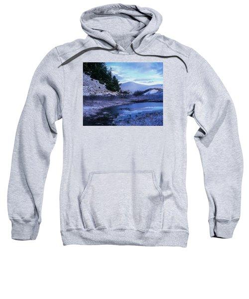 Snow On The Sand Sweatshirt