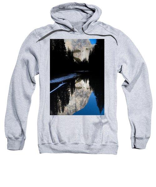Snow Sneaks In Sweatshirt