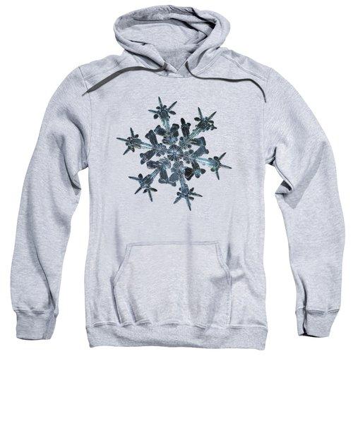 Snowflake Photo - Starlight II Sweatshirt