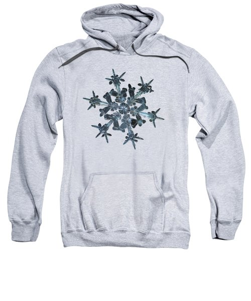 Snowflake Photo - Starlight II Sweatshirt