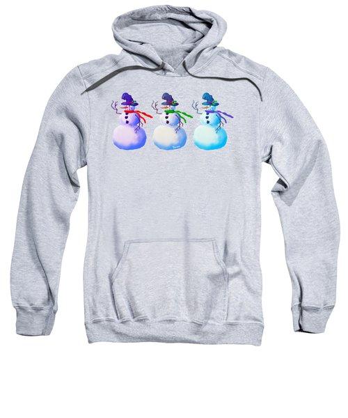Snowmen Apparel Design Sweatshirt