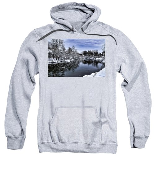 Snowy Ellicott Creek Sweatshirt