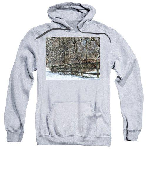 Winter Fence Sweatshirt