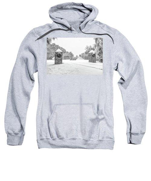 Snowy Gates Of Chisolm Island Sweatshirt