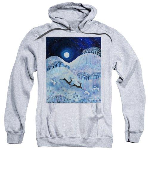 Snowy Peace Sweatshirt