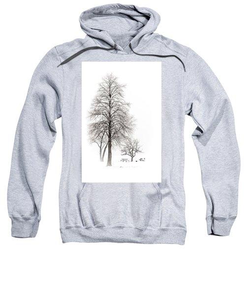 Snowy Trees Sweatshirt