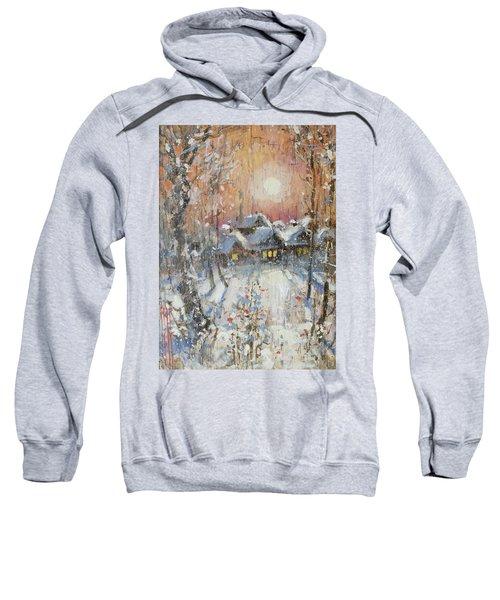 Snowy Village Sweatshirt