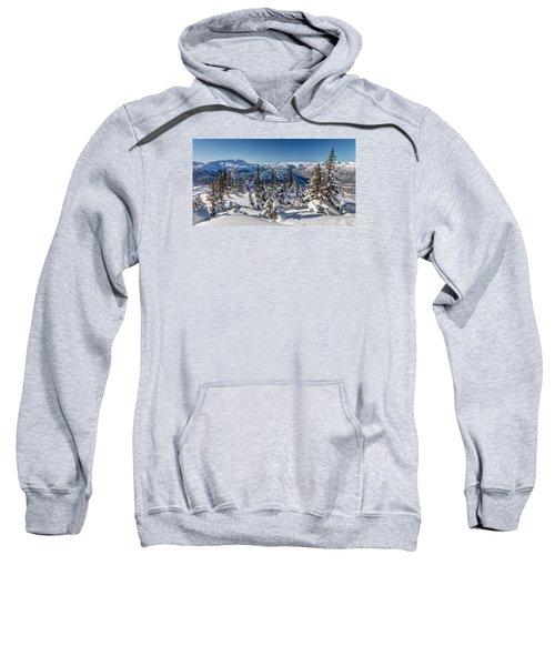 Snowy Whistler Mountain  Sweatshirt