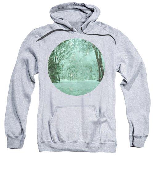 Snowy Winter Night Sweatshirt