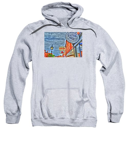 Soda Cigars And Brine Painterly   Sweatshirt