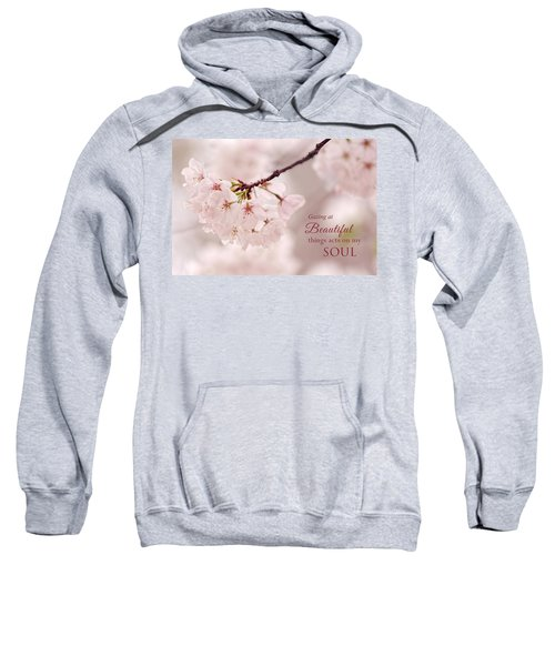 Soft Medley With Message Sweatshirt