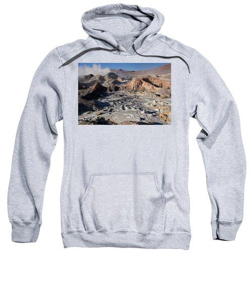 Sol De Manana Geothermal Field  Sweatshirt