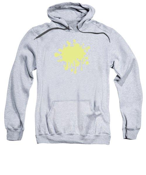 Solid Yellow Pastel Color Sweatshirt by Garaga Designs