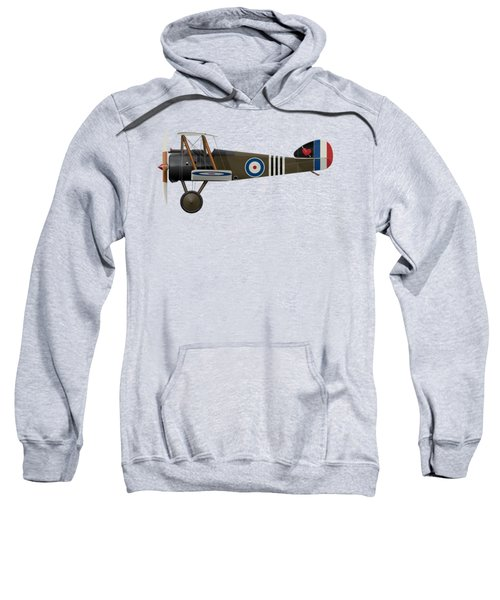 Sopwith Camel - B6313 June 1918 - Side Profile View Sweatshirt