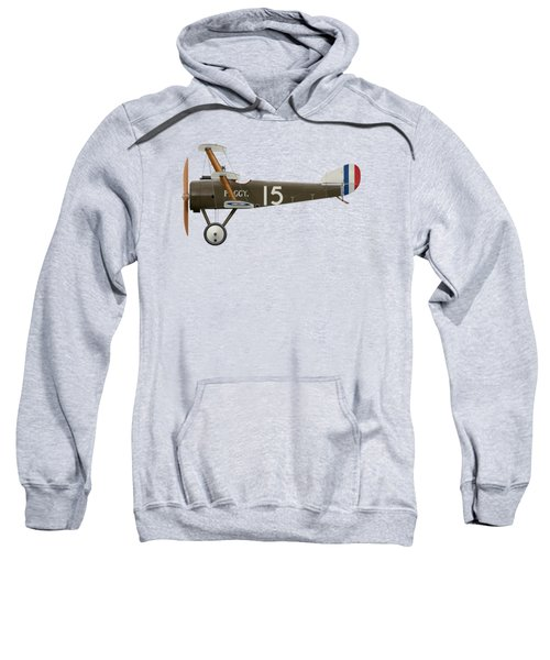 Sopwith Triplane - ' Peggy ' - Side Profile View Sweatshirt