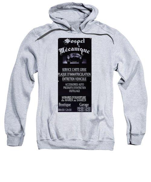 Sospel Mechanic Sweatshirt
