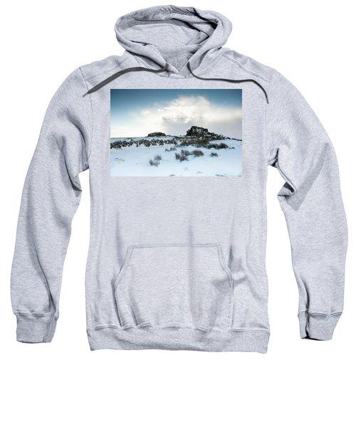 South Hessary Tor In The Snow II Sweatshirt