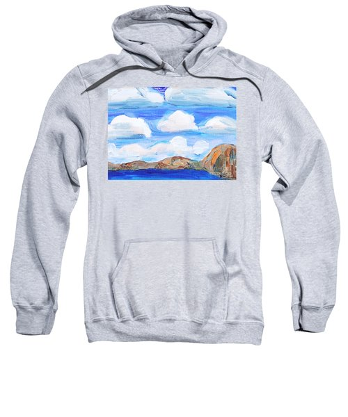 South Morro Bay View To North Sweatshirt