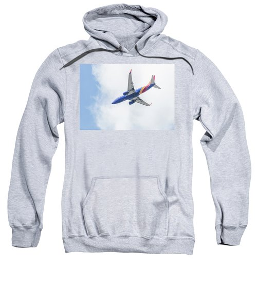Southwest Airlines With A Heart Sweatshirt