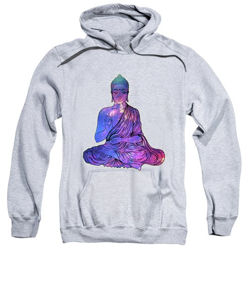 Space Buddha Dictionary Art Sweatshirt
