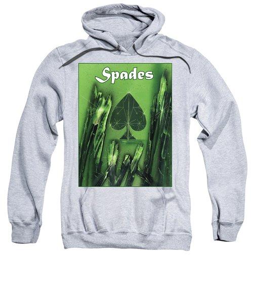 Spades Suit Sweatshirt