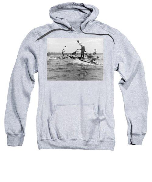 Speedboat Polo Enthusiasts Sweatshirt