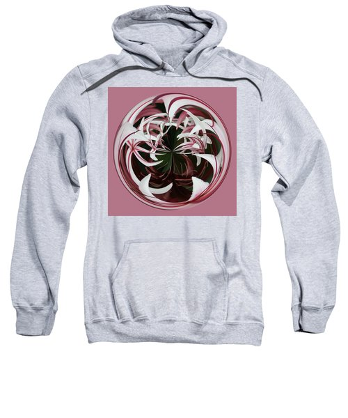 Spider Lily Orb Sweatshirt by Bill Barber