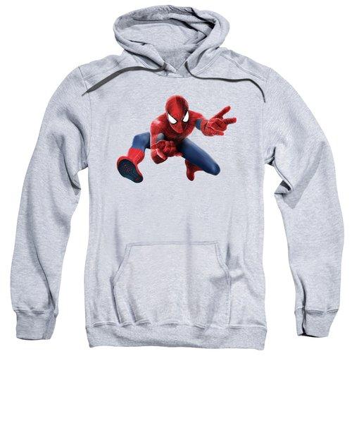Spider Man Splash Super Hero Series Sweatshirt by Movie Poster Prints