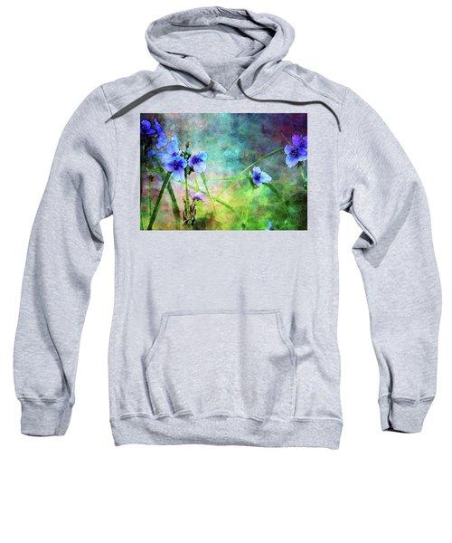 Spiderwort Dance 0115 Idp_2 Sweatshirt