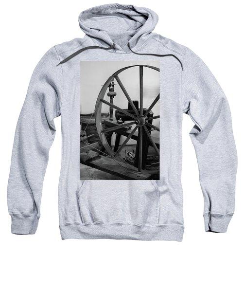 Spinning Wheel At Mount Vernon Sweatshirt