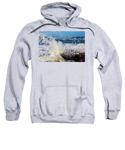 Wave Crash And Splash Sweatshirt