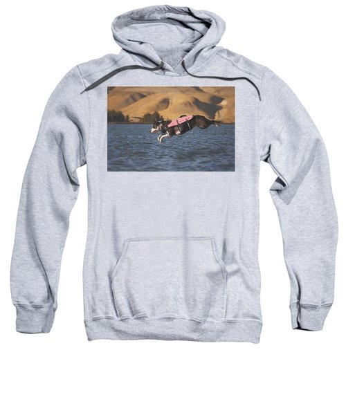 Splash In 3...2...1.... Sweatshirt