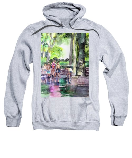 Splash In Battery Park Sweatshirt