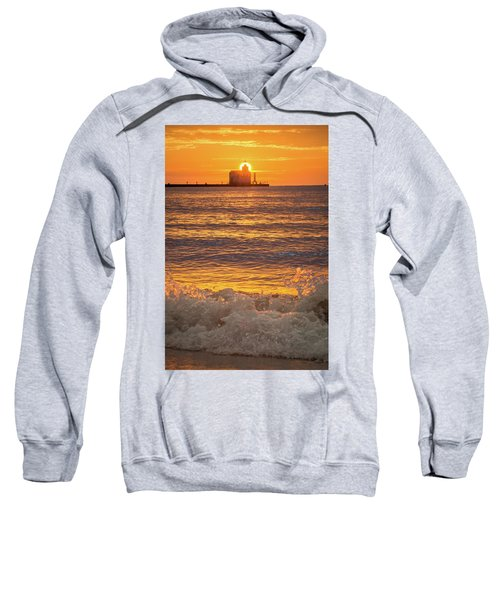 Sweatshirt featuring the photograph Splash Of Light by Bill Pevlor