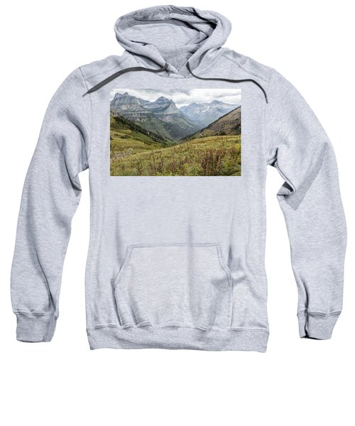 Splendor From Highline Trail - Glacier Sweatshirt