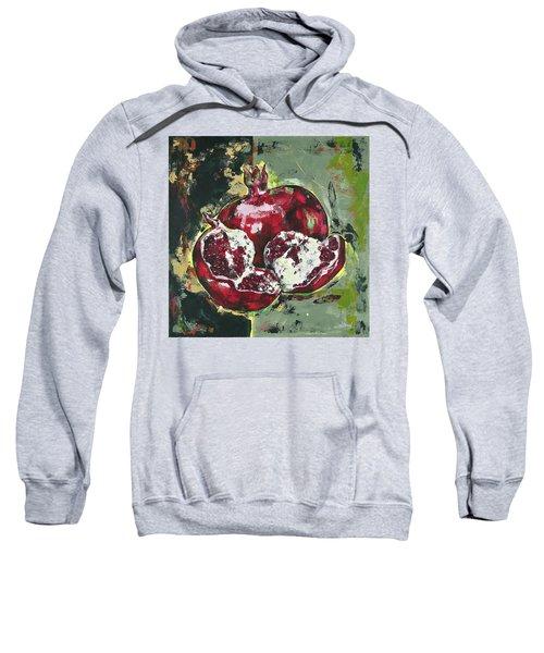 Split Pomegranate Sweatshirt