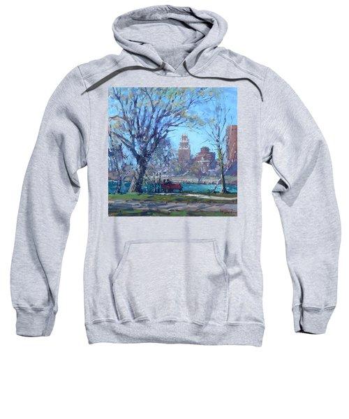 Spring At Goat Island Sweatshirt