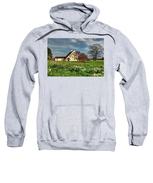 Spring At The Paine House Sweatshirt