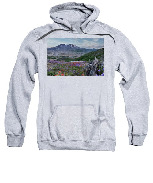 Spring Bloom Mt St Helens Sweatshirt