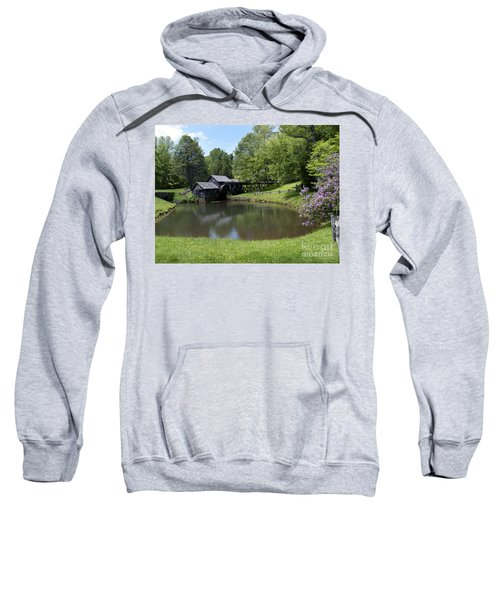 Spring Comes To Mabry Mill Sweatshirt