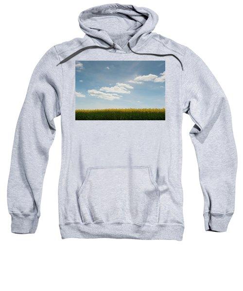 Spring Day Clouds Sweatshirt